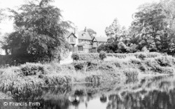 Gawsworth, The Manor House c.1965