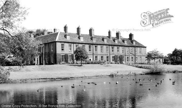 Gawsworth, the New Hall c1960