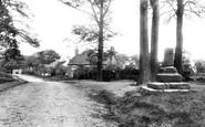 Gawsworth, the Old Cross 1897