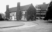 Gawsworth, the Old Hall c1955