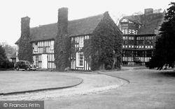 Gawsworth, The Old Hall c.1955