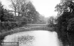 Gawsworth, The Pond c.1935