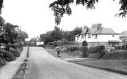 Gawsworth, the Village c1960