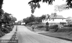 Gawsworth, The Village c.1955