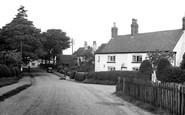 Gawsworth, the Village c1955