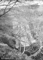 Springtime, Aysgill Force c.1932, Gayle