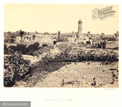 Gaza, The Old Town 1858