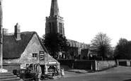 Geddington, St Mary Magdalene's Church c1955