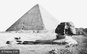 Geezeh, the Sphynx and Great Pyramid 1859
