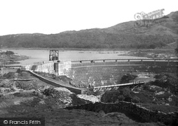 Gellilydan, Damall And Hatton Wood, Trawsfynydd Lake c.1935
