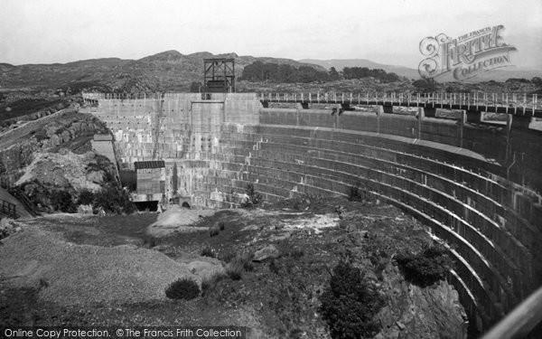 Photo of Gellilydan, Damall, Trawsfynydd Lake c.1935