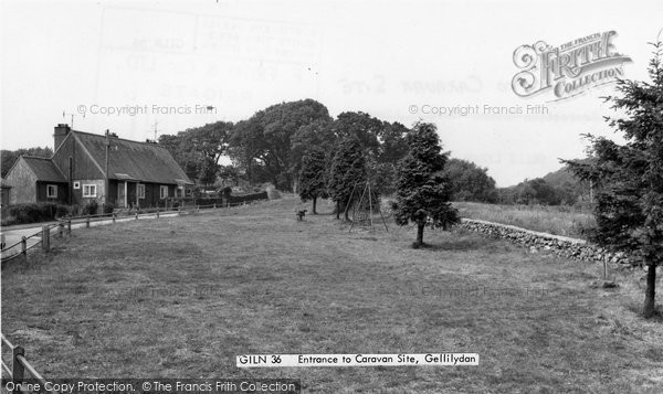 Photo of Gellilydan, Entrance To Caravan Site 1967