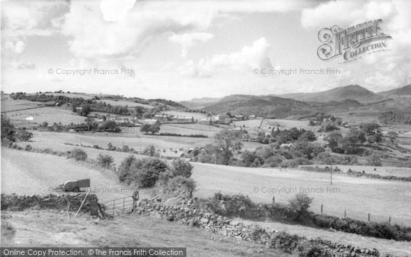 Photo of Gellilydan, General View 1960