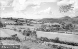 Gellilydan, General View 1960