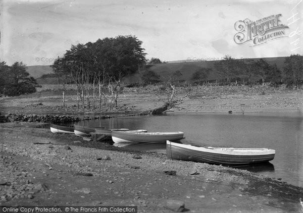 Photo of Gellilydan, Missing Sound, Trawsfynydd Lake c.1935
