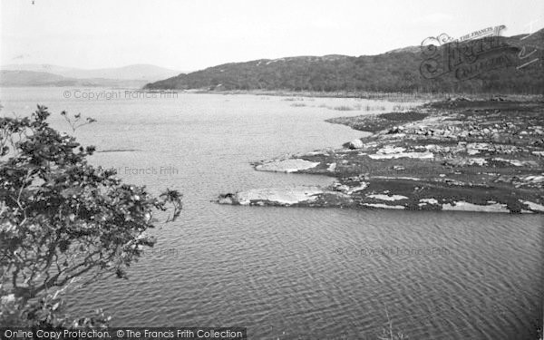 Photo of Gellilydan, The Lake c.1935