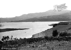 Gellilydan, View From Kirkby's Beat, Trawsfynydd Lake c.1935