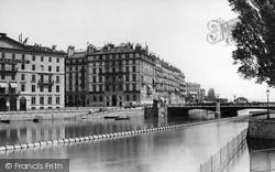 Geneva, Hotels Bergues Et Russie c.1885