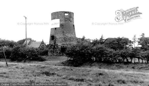 Photo of Gentleshaw, Old Mill c.1955