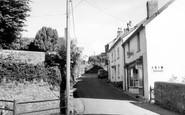 Georgeham, Church Street c1960