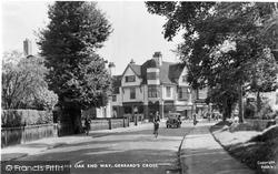Gerrards Cross, Highway And Oak End Way c.1950