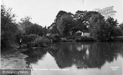 Gerrards Cross, Latchmoor Pond, The Common c.1950