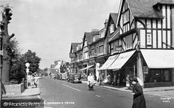 Gerrards Cross, Station Parade c.1950