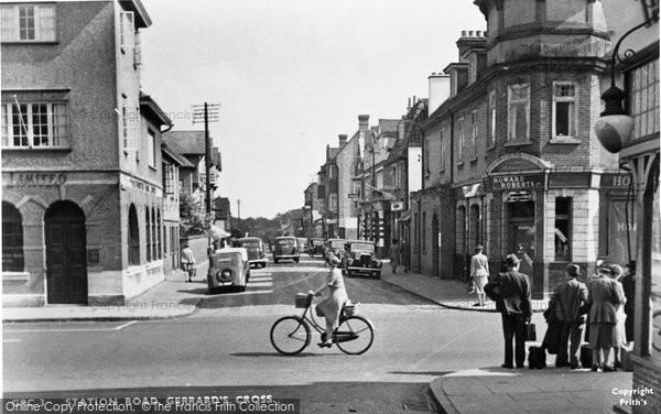 Photo of Gerrards Cross, Station Road c1950