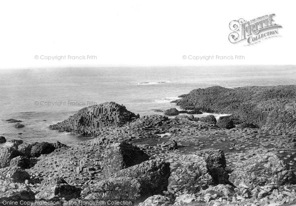 Photo of Giant's Causeway, From Above Road 1897
