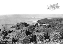Giant's Causeway, From Above Road 1897