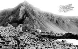 Giant's Causeway, From Grand Causeway 1897