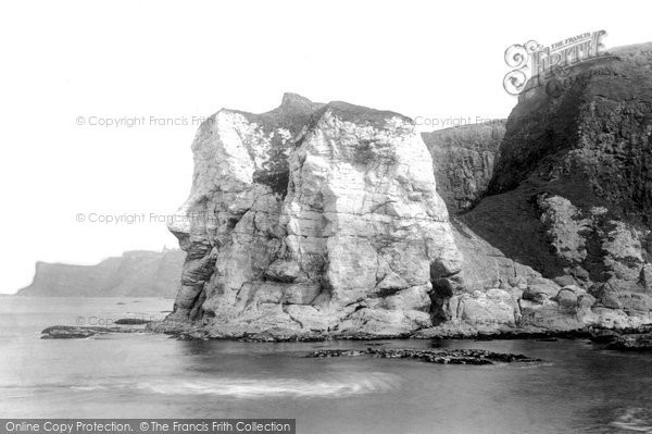 Photo of Giant's Causeway, Giant's Head 1897