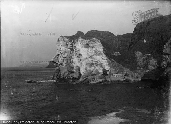 Photo of Giant's Causeway, Giant's Head c.1930
