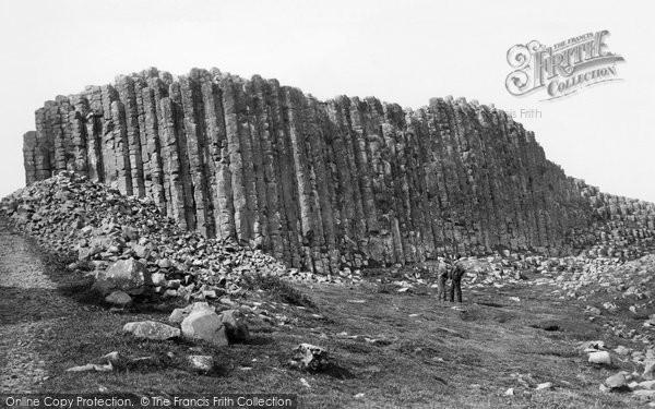 Photo of Giant's Causeway, Giants Loom 1897