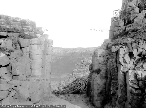 Photo of Giant's Causeway, The Gateway  c.1897