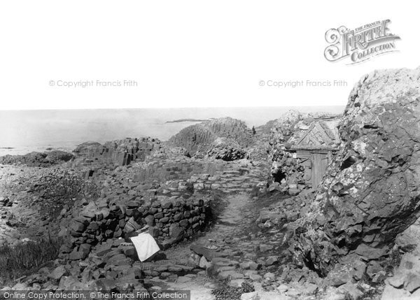 Photo of Giant's Causeway, The Giant's Well c.1897