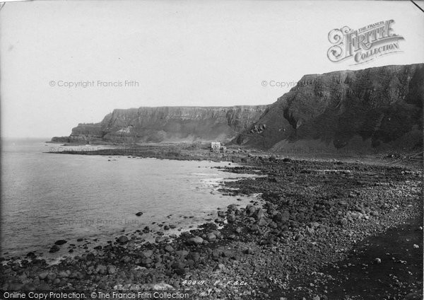 Photo of Giant's Causeway, The Headland 1897