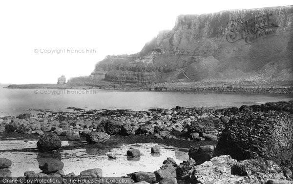 Photo of Giant's Causeway, The Headland 1897