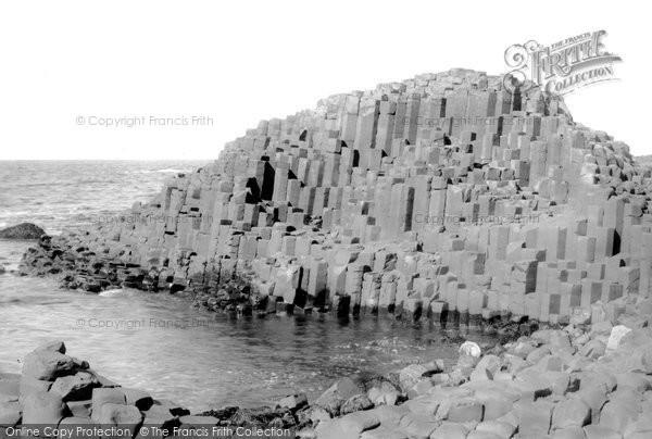 Photo of Giant's Causeway, The Honeycomb c.1897