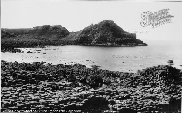 Photo of Giant's Causeway, The Steucans 1897