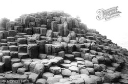Giant's Causeway, The Wishing Chair c.1897