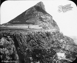 Gibraltar, The Rock, From Europe Point c.1865