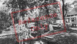 Canal Scene c.1930, Giethoorn