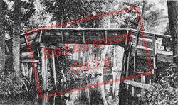 Footbridge c.1930, Giethoorn