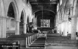 Giggleswick, Church, Interior 1893