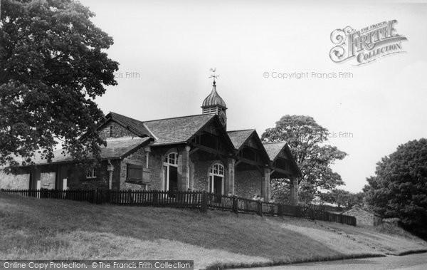 Photo of Giggleswick, Cricket Pavilion c.1960