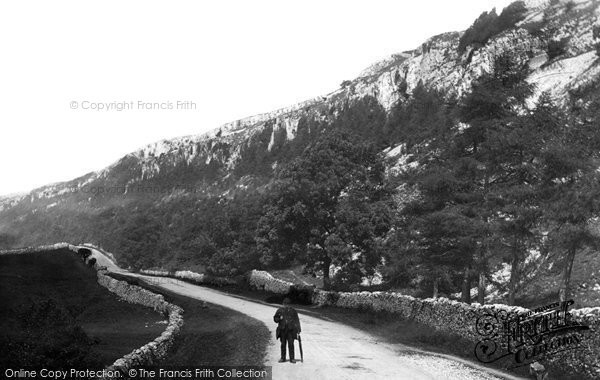 Photo of Giggleswick, Giggleswick Scar 1887
