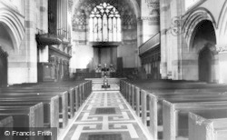 Giggleswick, High School Chapel, Interior c.1955