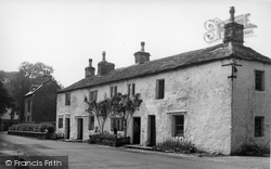 Giggleswick, Old Cottages c.1955