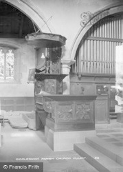 Giggleswick, Parish Church, Pulpit c.1900